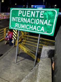 Puente internacional Rumichaca