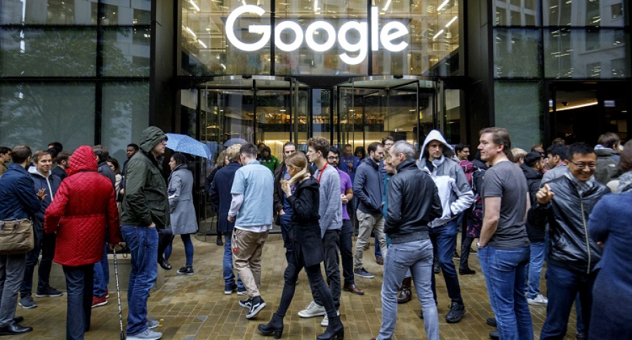 Una de las dependencias de Google