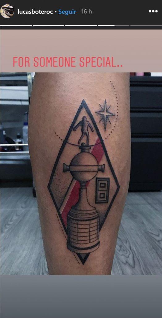 Tatuaje Juan Fernando Quintero