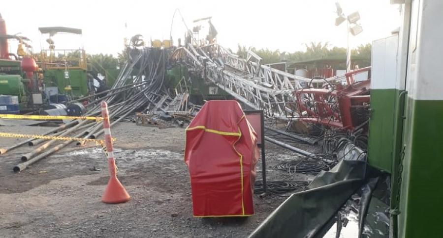 Torre colapsada