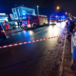 Incendio en Polonia