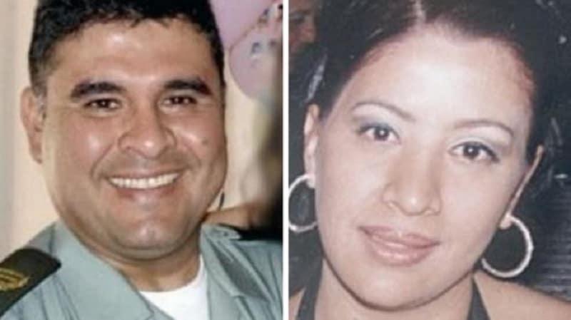 Coronel retirado Joaquín Enrique Aldana Ortiz y su esposa Érika Cecilia Yeneris Gutiérrez