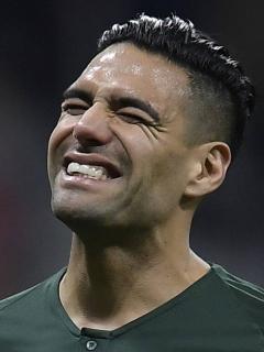 Falcao se lesiona y es descartado para el partido ante el Metz