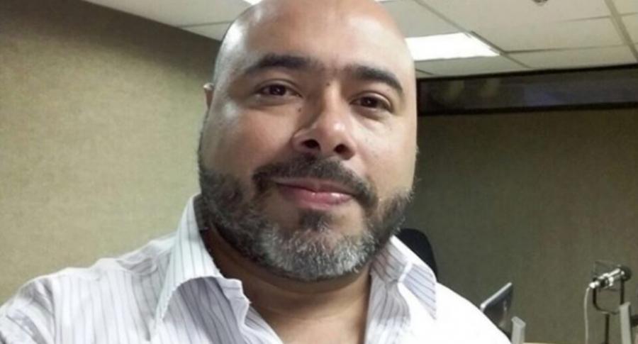 Óscar Monsalve, humorista conocido como 'Risa loca'.