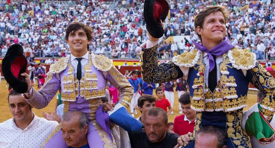 Andrés Roca Rey y El Juli