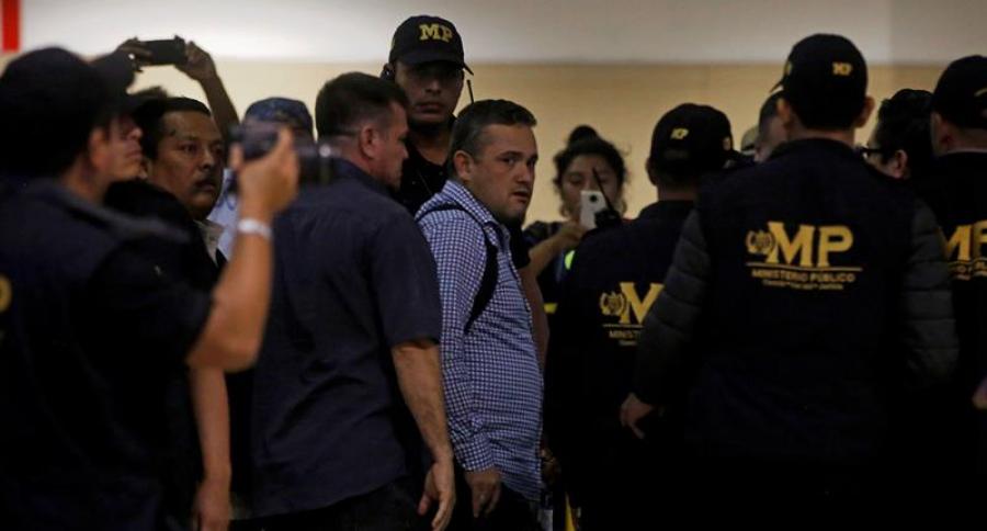 Investigador colombiano en Guatemala
