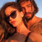 Maluma y su novia, Natalia Barulich.