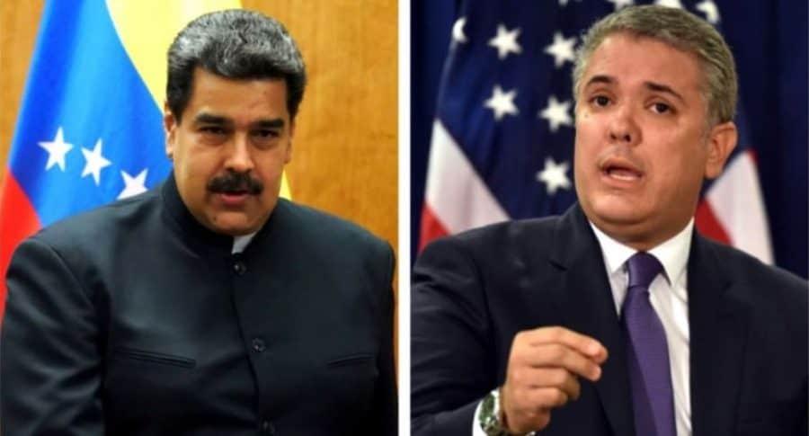 Maduro y Duque