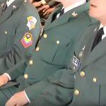Oficiales del Club Militar.