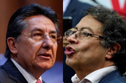 Néstor Humberto Martínez y Gustavo Petro