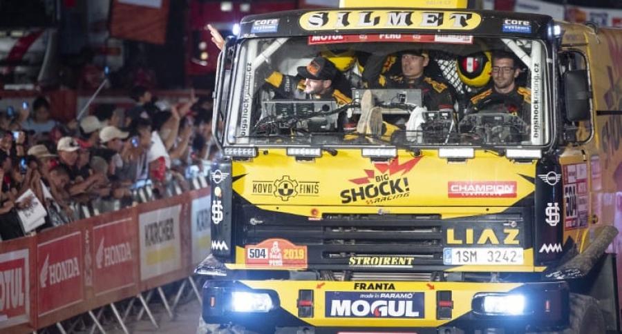 Camión del Dakar