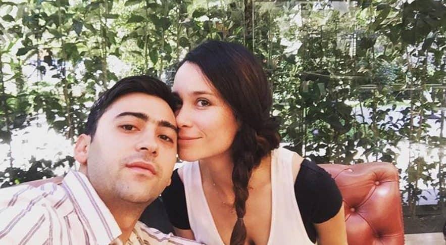 Variel Sánchez y Estefanía Godoy