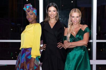 Belky Arizala, Carolina Castro y Catalina Maya, directoras de 'La Agencia'.