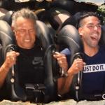 Falcao García y su papá