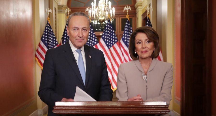 Charles Schumer y Nancy Pelosi