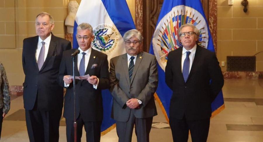 Alejandro Ordóñez, Carlos Játiva, Carlos Calles y Luis Almagro