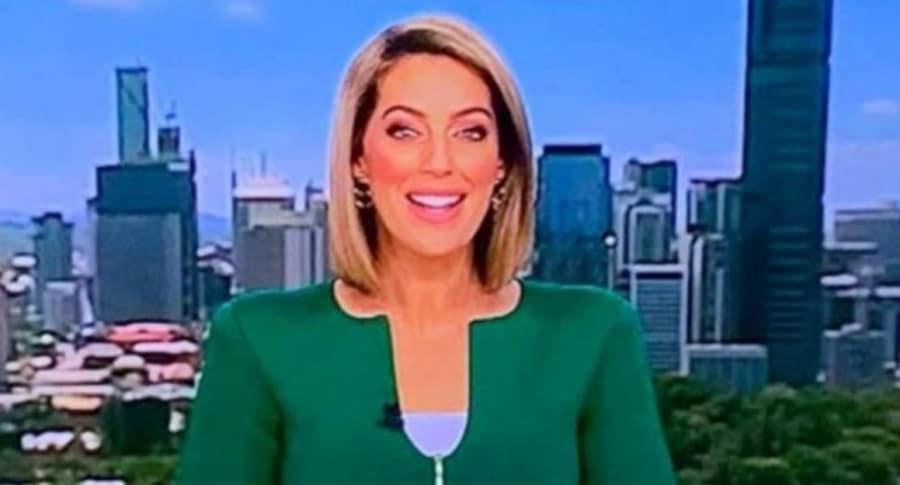 Samantha Heathwood, presentadora australiana.