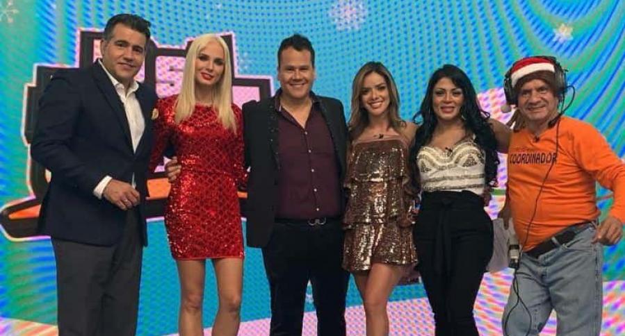Carlos Calero, Elizabeth Loaiza, Ariel Osorio, Elianis Garrido, Marbelle y Juan Ricardo Lozano