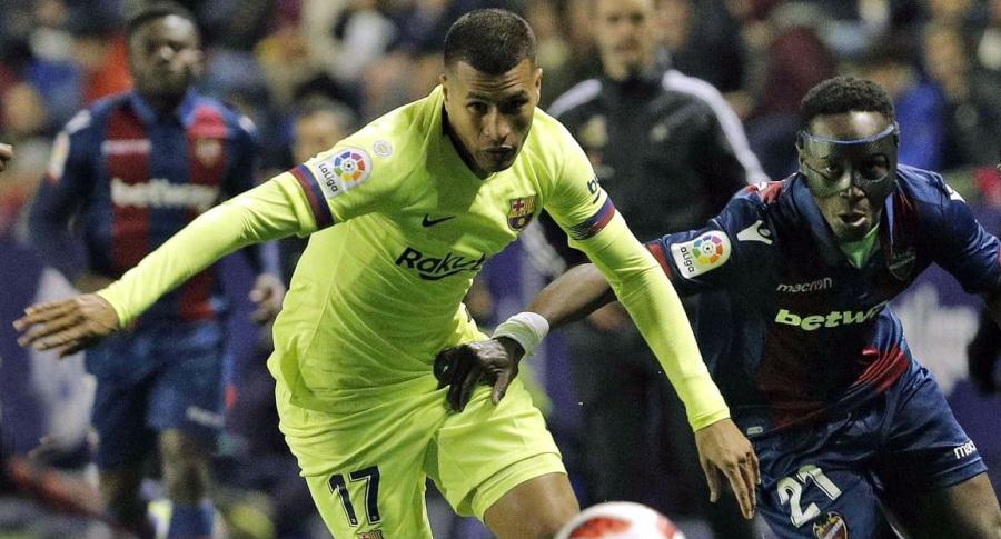 Amargo debut de Murillo con el Barça: en gol recibido, el balón le pasó entre las piernas