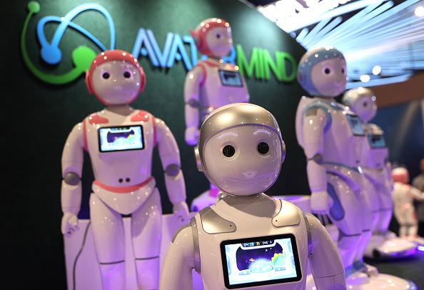 Robots en el CES