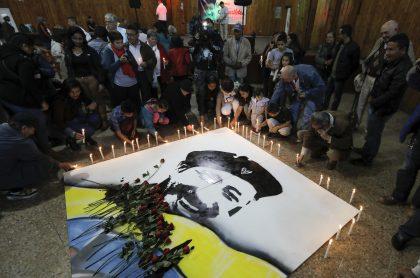 Homenaje al 'Mono Jojoy' en Bogotá en 2018