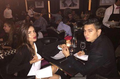 Pipe Bueno y Jessica Cediel