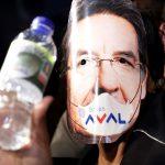 Protestas contra el fiscal Néstor Humberto Martínez