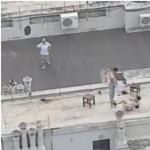 Sexo en terraza