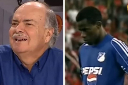 Iván Mejía y Carmelo Valencia