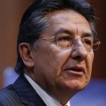 Néstor Humberto Martínez, fiscal General de la Nación, y Daniel Coronell, periodista.