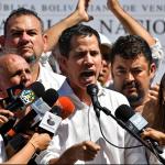 Juan Guaidó, presidente del parlamento de Venezuela.