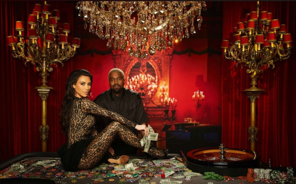 Kim Kardashian y Kanye West,