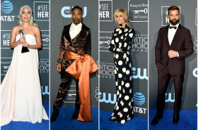 Lady Gaga, Billy Porter, Judith Light y Ricky Martin