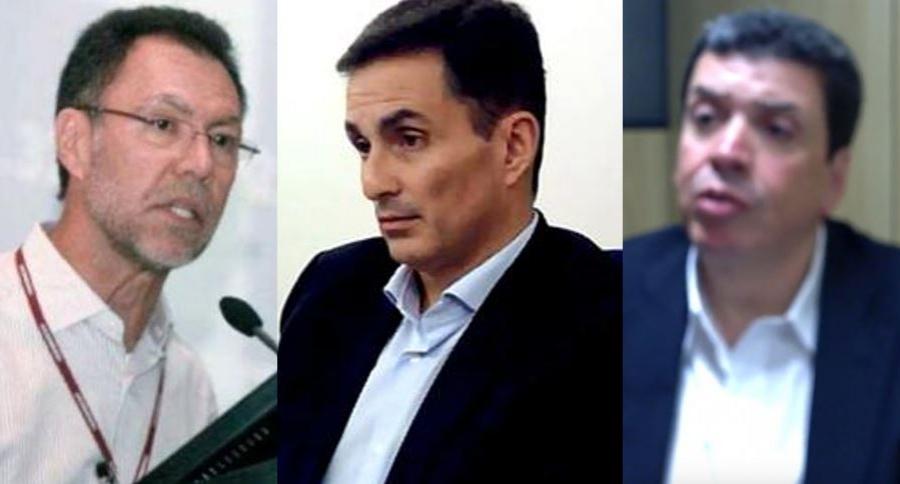Luiz Mameri, Luiz Antonio Bueno y Luiz Eduardo da Rocha