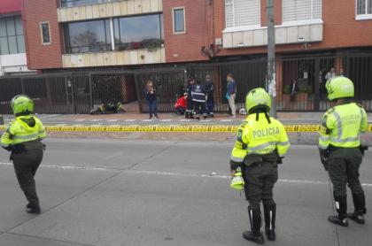 Accidente de motociclistas
