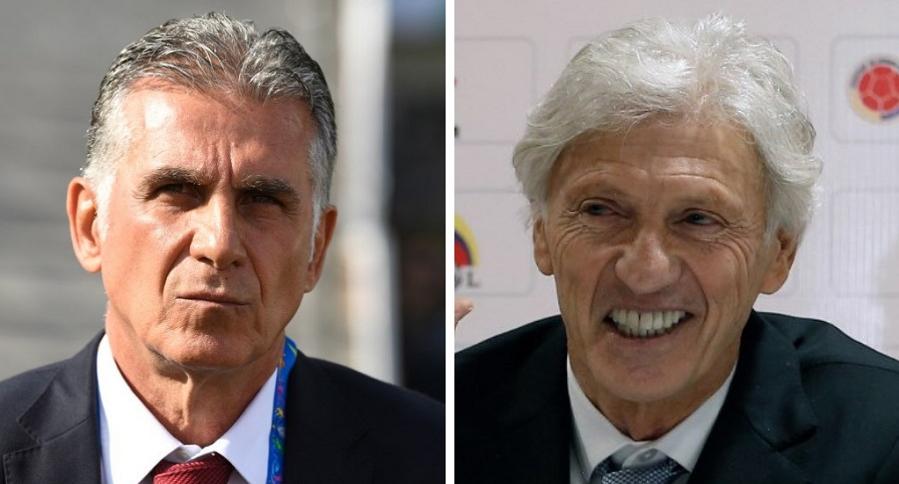 Carlos Queiroz y José Pékerman