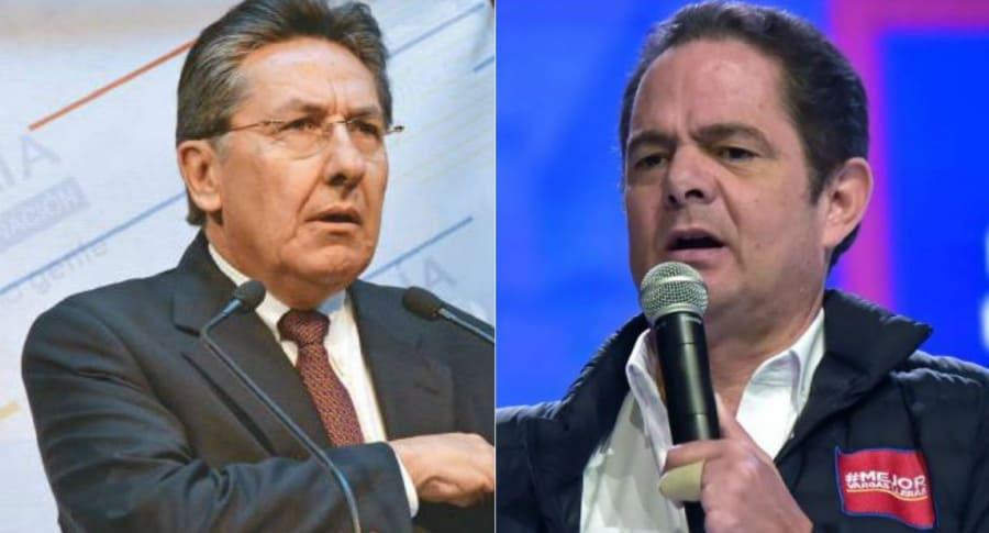 Néstor Humberto Martínez y Germán Vargas Lleras