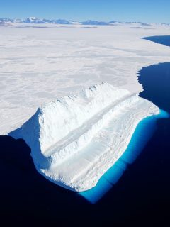 Iceberg en la Antártida.