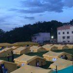 Campamento de inmigrantes venezolanos de Engativá