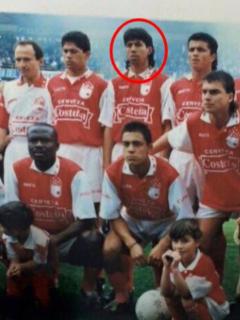 Diego Fernando Tello con su familia y amigos