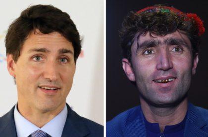 Justin Trudeau y Abdul Maftoon