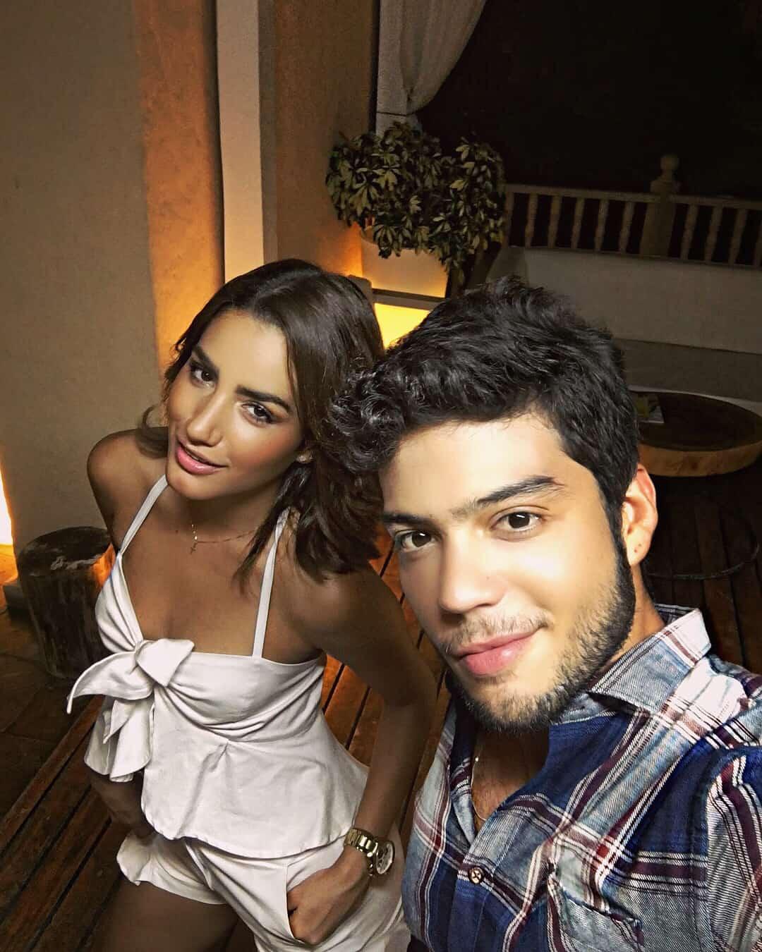 Vivian Ossa y Jerónimo Cantillo
