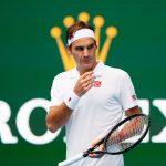 Roger Federer en el Abierto de Australia 2019