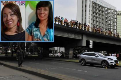 Accidente en el que murieron Maritza Loaiza y su hija Yenni Alexandra Narváez Loaiza