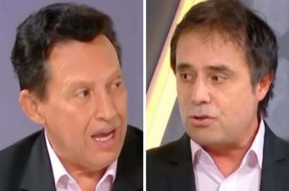 Óscar Rentería y César Augusto Londoño