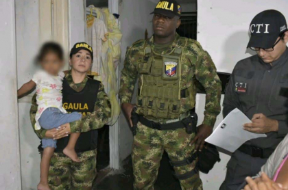 Rescatan a niña secuestrada