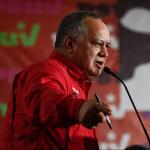 El jefe de la Asamblea Constituyente de Venezuela (ANC), Diosdado Cabello