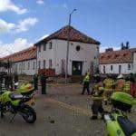 Explosión en Escuela General Santander