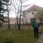 Carro bomba en Escuela de Cadetes General Santander