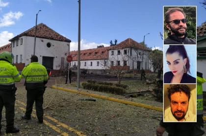 Los presentadores Pirry y Carolina Cruz, y el actor Julián Román se pronuncian sobre atentado en Escuela General Santander.
